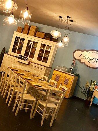 sala - picture of casa mia pizzeria italiana, albizzate - tripadvisor