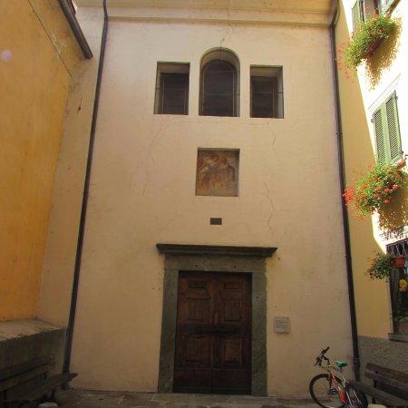 Tirano, Italie : chiesa dell'angelo custode
