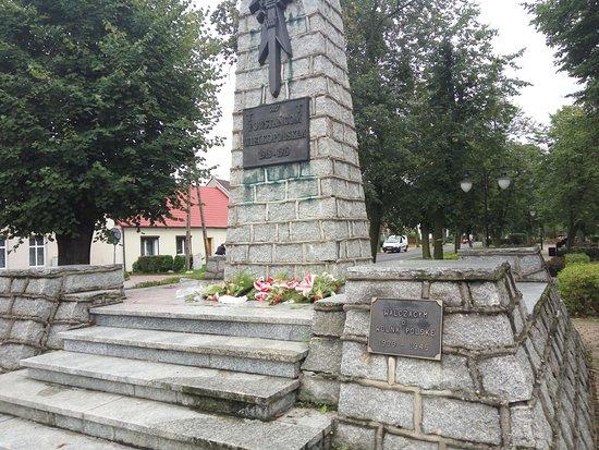 Monument commemorating the insurgents of Wielkopolska