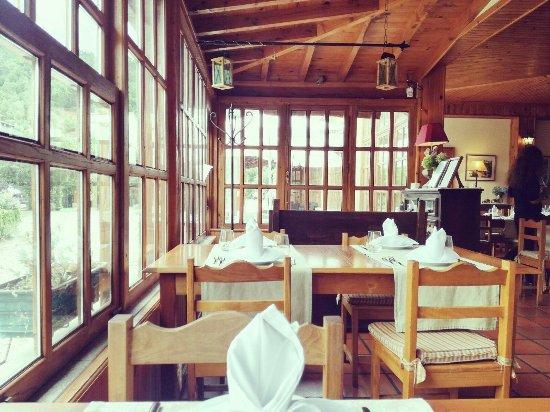 Seia, Portekiz: sala de inverno