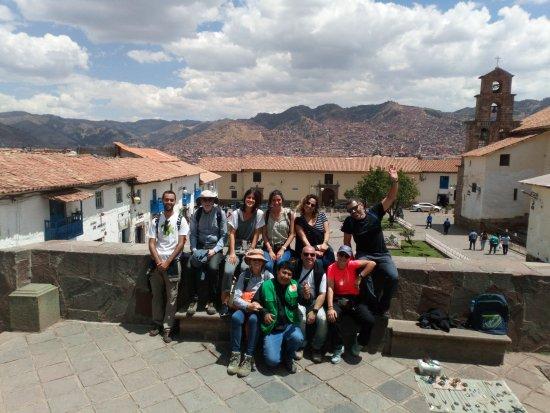 Região de Cusco, Peru: Lindo día con los chicos