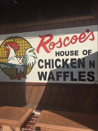 Roscoe's House of Chicken & Waffles: Outside of the restaurant
