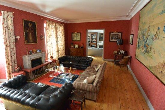 Another lounge at Casa de Tepa.