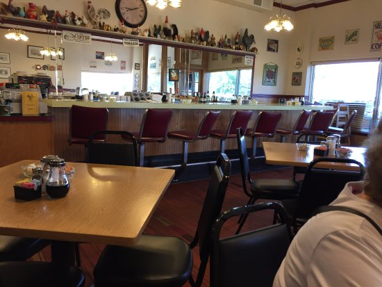 Vienna, VA: Inside of diner