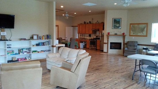 Boerne, TX: The Clubhouse: Play games, watch TV, cook in our large kitchen!