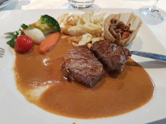 Wissembourg, France : Hauptspeise