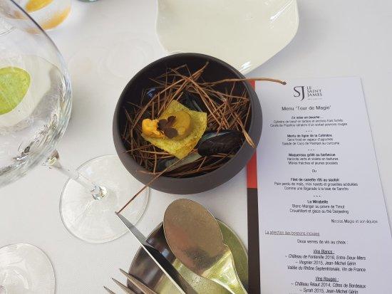 Restaurant Le Saint-James Relais & Chateaux 이미지