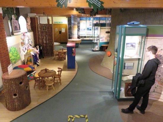 Lyndhurst, UK: New Forest Centre interior