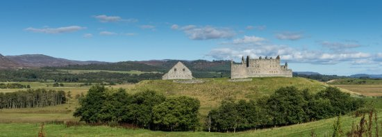 Newtonmore, UK: View from the road