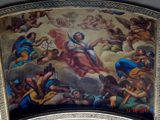 Santa Maria del Fiore: affresco interno