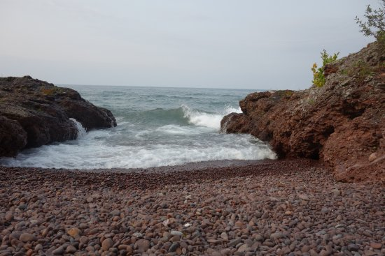 Eagle Harbor, MI: A one minute walk from cabin #5