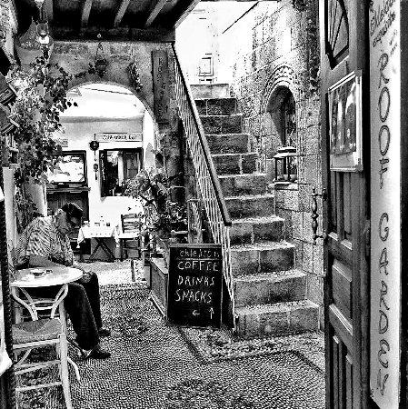 Lindos : Cafe