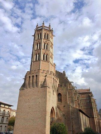 Pamiers, Fransa: La cathédrale du Castella