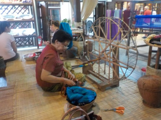 San Kamphaeng, Thailand: trabajadoras