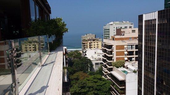 Mar Ipanema Hotel: Vista da varanda.