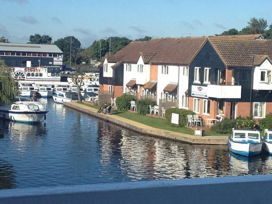 Wroxham, UK: View from the restaurant