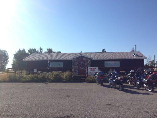 The Ashton Sunrise Cafe, Ashton, Idaho, USA.