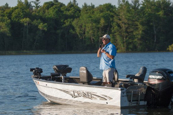 Ruttger's Bay Lake Lodge: Fishing on Bay Lake