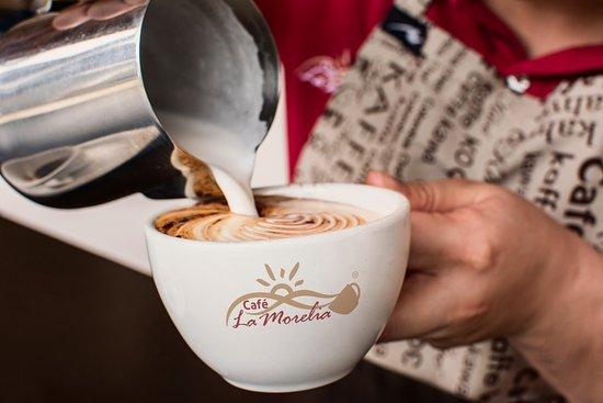Café La Morelia: Conoce nuestra área de barismo y deleitate con un buen café.