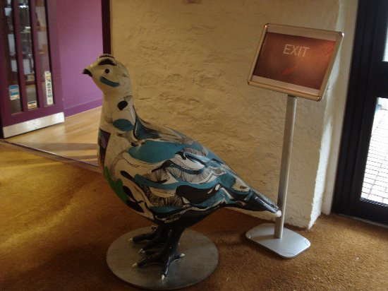 Crieff, UK: Grouse with a difference!