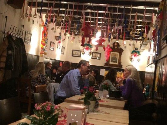 Hotel Sankt Andreas : Η θέα και το εστιατόριο