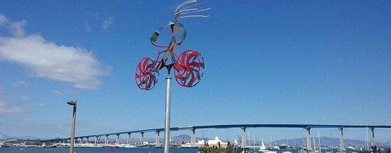 Coronado Bike Tour with Coronado Bridge View.