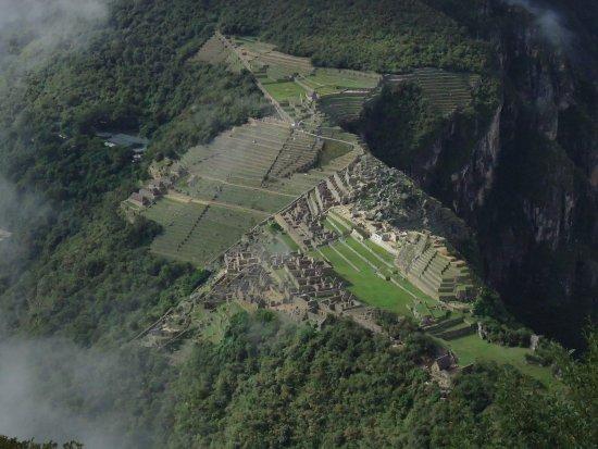 Machu Picchu Terra : Ciudadela desde Huayna Picchu