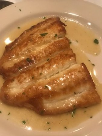 Roslyn, NY: Dover Filet of Sole