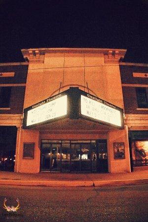 Enid, OK: Gaslight Theatre Exterior