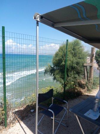 Camping Nausicaa : Piazzola a picco sul mare