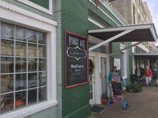 Brenham, TX: The Back door
