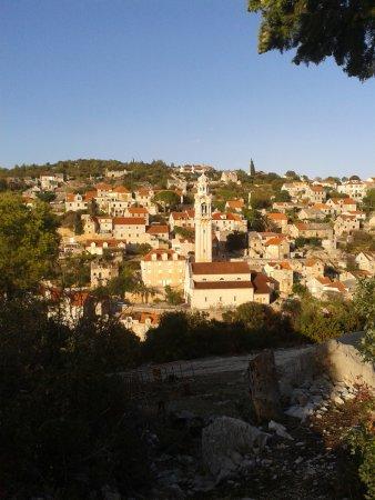 Milna, Croatia: Inland village