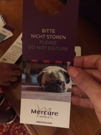 Mercure Josefshof Wien am Rathaus: Please do not disturb