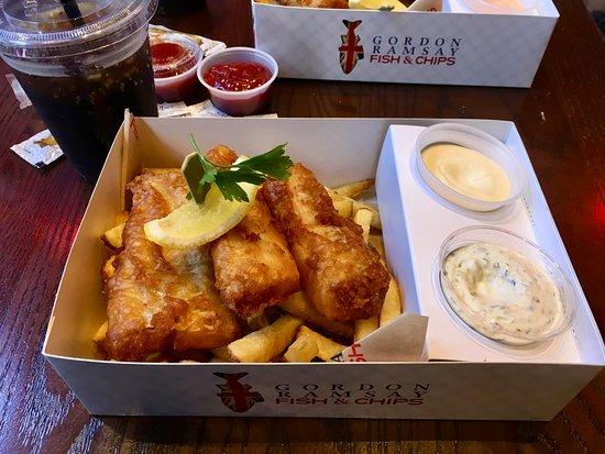 20170907 153249 picture of gordon ramsay fish for Gordon ramsay las vegas fish and chips