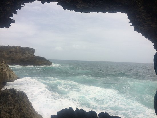 Saint Lucy Parish, Barbados: Inside the cave