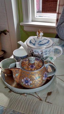 Des Moines, واشنطن: Teapots