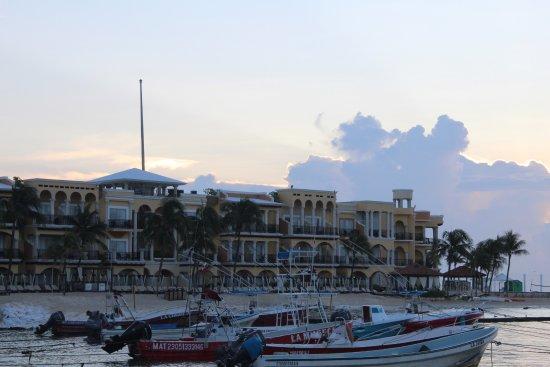 amanecer en el hotel gran porto real bild von panama. Black Bedroom Furniture Sets. Home Design Ideas