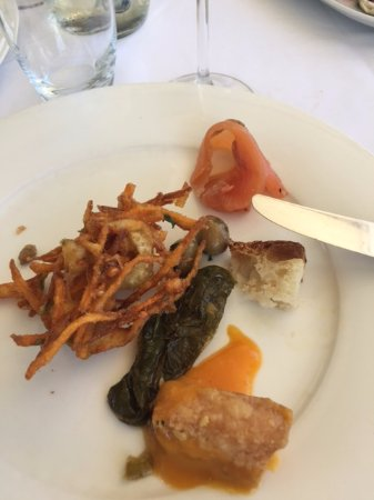Giardino Monsignore: Hot vegetables