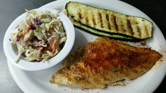 Monrovia, CA: Half of the catfish was not cooked