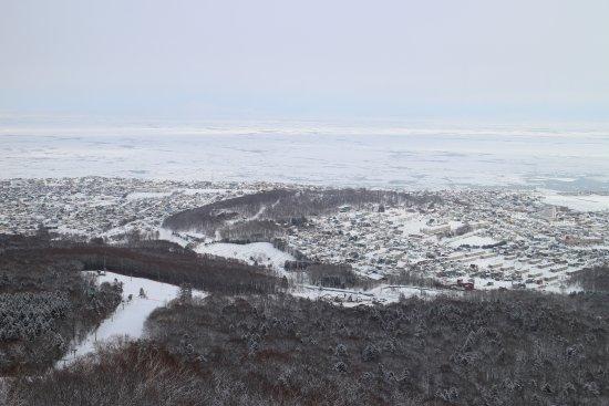 Monbetsu, Japan: 流氷と樹氷