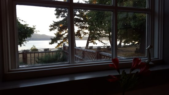 Eastsound, WA: View from Bar Table