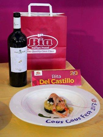 Casteldaccia, Italia: Delicata delizia di Sicilia  piatto classificato al 2 posto al Cous Cous Fest 2017
