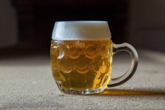 Banska Bystrica, Slovakia: Local beer Baran