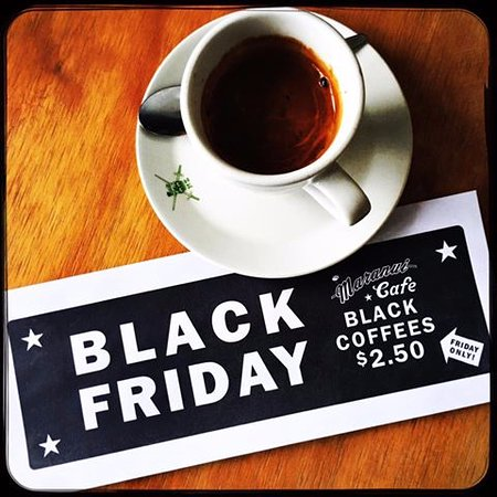 Maranui Surf Lifesaving Cafe: Black Coffee Fridays!
