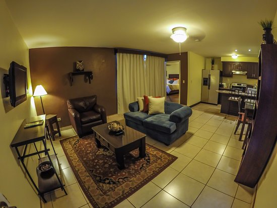 Hotel Humuya Inn: Sala de estar Apartamentos!!!