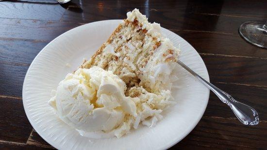 Eastsound, WA: Coconut Cake