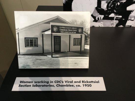 David J. Sencer CDC Museum: sample 1950s photo