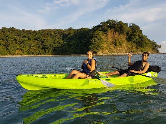 Playa Samara, Costa Rica: Hicimos el tour de Kayak y Snorkeling a Isla Chora,amamos la experiencia. Súper recomendado!!
