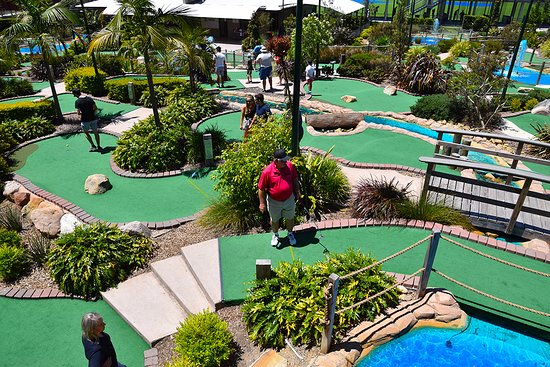 Thornleigh, Australia: Australian Mini Golf Tournament