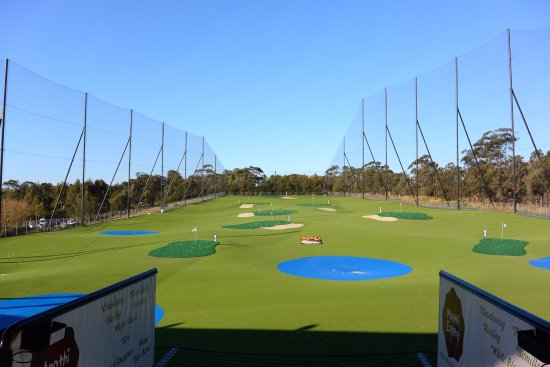 Thornleigh, Australia: View on Driving Range